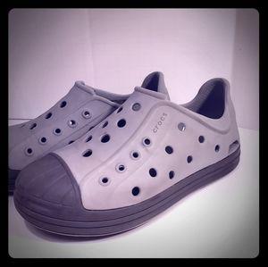 Crocs Boys size 11 Grey
